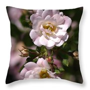 Graceful Duo Throw Pillow