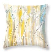 Graceful Grasses Throw Pillow