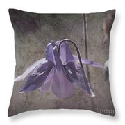 Graceful Lady Throw Pillow