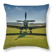 Graceful Spitfire Hdr Throw Pillow