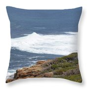 Gracetown Beach 1.1 Throw Pillow
