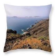 Graciosa Island Throw Pillow