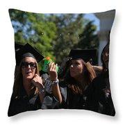Graduation Uva Throw Pillow