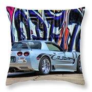 Graff Vette Throw Pillow