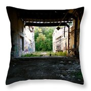 Graffiti Alley 1 Throw Pillow