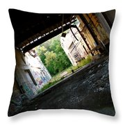 Graffiti Alley 2 Throw Pillow