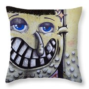 Graffiti Art Buenos Aires 1 Throw Pillow