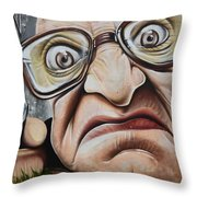Graffiti Art Curitiba Brazil 22 Throw Pillow