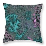 Graffiti Mix Throw Pillow