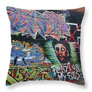 Graffiti Series 01 Throw Pillow