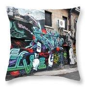 Graffiti Series 02 Throw Pillow
