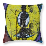 Graffitio Throw Pillow
