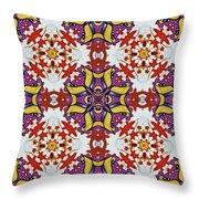 Graffito Kaleidoscope 40 Throw Pillow