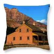 Grafton Utah 1866 Throw Pillow