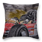 Graham Hill Mr Monaco Throw Pillow