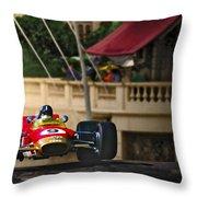 Graham's Monaco 1968 Throw Pillow