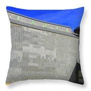 Grain Storage Throw Pillow