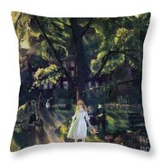 Gramercy Park Throw Pillow