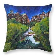 Gramercy Park Throw Pillow