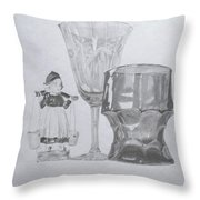 Grammas Glasses Throw Pillow