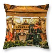 Gran Caffe Lavena Orchestra Throw Pillow