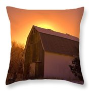 Granary Rise Throw Pillow