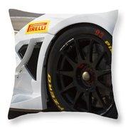 Grand Am Lamborghini Throw Pillow