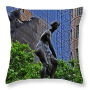Grand Army Plaza Throw Pillow