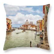 Grand Canal Apartment Throw Pillow