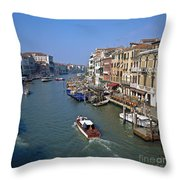 Grand Canal Throw Pillow