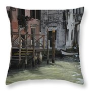 Grand Canal Style Home Sweet Home Throw Pillow