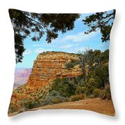 Grand Canyon - South Rim Throw Pillow