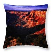 Grand Canyon 119 Throw Pillow