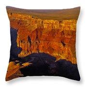 Grand Canyon 12 Throw Pillow