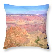 Grand Canyon 19 Throw Pillow