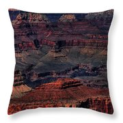 Grand Canyon 2 Throw Pillow