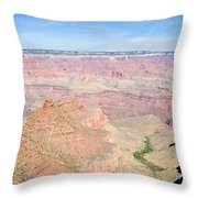 Grand Canyon 51 Throw Pillow