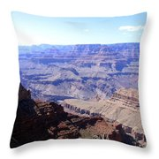 Grand Canyon 65 Throw Pillow