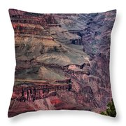 Grand Canyon 7 Throw Pillow