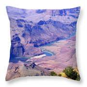 Grand Canyon 71 Throw Pillow