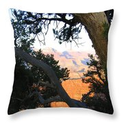 Grand Canyon 74 Throw Pillow
