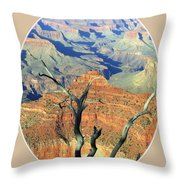 Grand Canyon 77 Throw Pillow