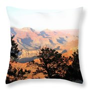 Grand Canyon 79 Throw Pillow