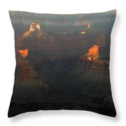 Grand Canyon 82 Throw Pillow