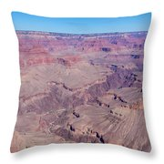 Grand Canyon And Colorado River Throw Pillow