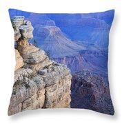 Grand Canyon At Dawn Throw Pillow