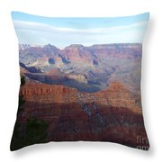 Grand Canyon Beauty Throw Pillow by Janice Sakry