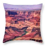 Grand Canyon Colorado Canyon Throw Pillow