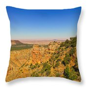 Grand Canyon Desert View Throw Pillow