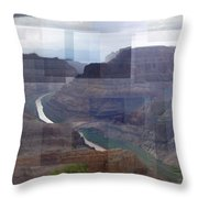 Grand Canyon Guano Point Throw Pillow